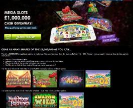 Gala Casino Launches £1 Million Prize Draw