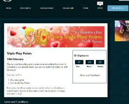 Earn Triple Play Points Today at Grosvenor Casino