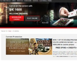 Win a South African Safari Adventure at Wild Jack Casino
