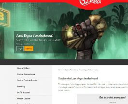 Play Lost Vegas at 32Red to Win a £3,200 Bonus