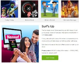 Win £10,000 Cash in Casino.com's Weekly Neosurf Prize Draws