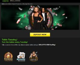 Get Table Games Free Play on Tuesdays at 888 Casino