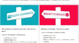 Choose From Three Special Promotions at Gala Casino
