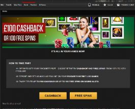 Enjoy Free Spins or Cashback Today at NetBet Casino