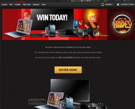 Win £7000 Worth of Gadgets in NetBet Casino Prize Draw