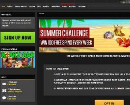 Receive 100 Free Spins Each Week in NetBet's Summer Spins Challenge