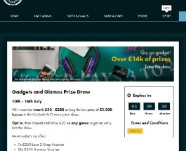 Win Big in Grosvenor's Gadgets and Gizmos Prize Draw