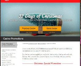 Enjoy the Festive Spirit With 32Red Christmas Promotions