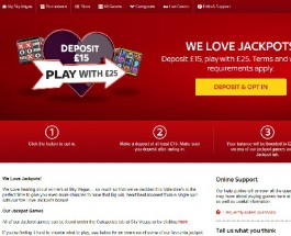 Enjoy a £10 Jackpot Bonus at Sky Vegas Casino