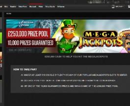 NetBet Casino Mega Jackpots Promotion Offers £250K Prize Pool