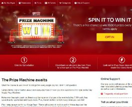Win One of 10,000 Daily Prizes with Sky Vegas Prize Machine