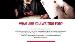 Win a €1,500 Package to MPNPT Manchester at RedBet