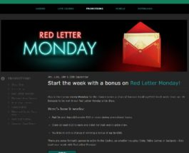 Win a Share of £500 Bonus Money at Bet365 Casino on Monday