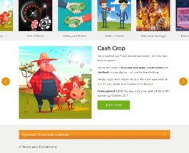 Enjoy Daily Bonuses in Casino.com's Cash Crop Promotion