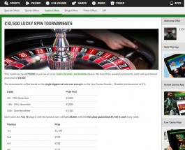 Win a Share of £7,000 Playing Roulette at Unibet Casino