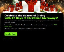 Enjoy Daily Rewards with 888 Casino 12 Days of Christmas Giveaways