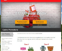 Win a Share of £5K in 32Red Casino Slots Battle