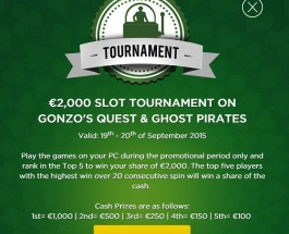 Win a Share of €2,000 at Mr Green This Weekend