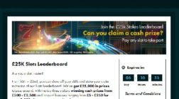 Win a Share of £25K in Grosvenor Casino's Slots Leaderboard Competition