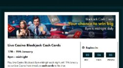 Win Extra Cash at Grosvenor Casino's Blackjack Tables Tonight