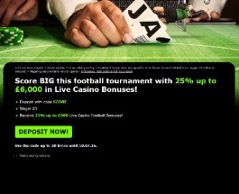 Enjoy Up to £6,000 of Live Casino Bonuses at 888 Casino