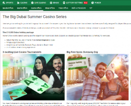 Win a Share of £50K and A Holiday in Dubai at Unibet Casino