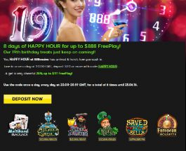 Enjoy Daily Free Play Bonuses at 888 Casino