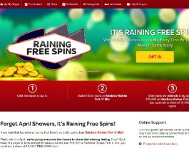 Win a Share of 10,000 Free Spins at Sky Vegas