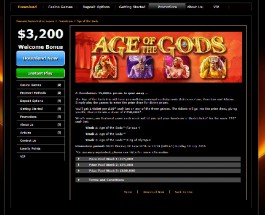 Win a Share of £250K Playing Age of the Gods at Casino.com