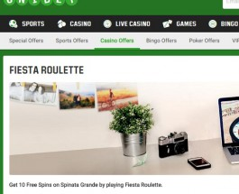 Win 10 Free Spins on Spinata Grande at Unibet Casino