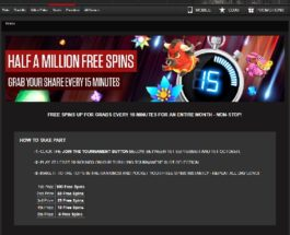 Win Up To 100 Free Spins in NetBet Casino's 15 Minutes Tournaments