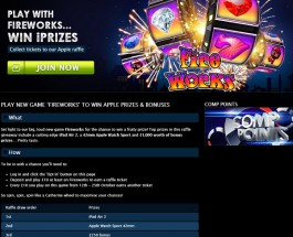 Win Apple Prizes and Bonuses at Gala Casino