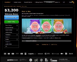 Casino.com Pick 'n' Mix Promo Offers Up to £750 Bonus