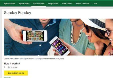 Claim 10 Free Spins at Unibet Casino