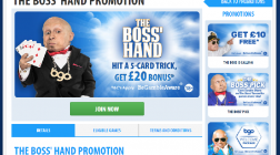 Receive £20 Bonuses for Five Card Charlies at BGO