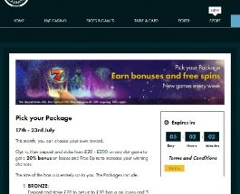 Get a Bonus and Free Spins at Grosvenor Casino This Weekend
