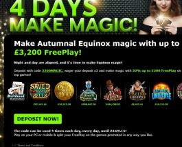 Enjoy Up to £3,200 Free Play at 888 Casino This Week