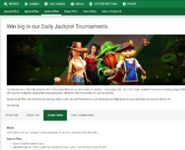 Win Big with Unibet's Daily Jackpot Casino Tournament