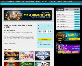 Win a Share of £10K At Grosvenor Casino this Weekend