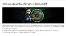 Win a Share of £10K with Unibet Casino's Money Wheel Tournament