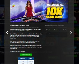 Win a Share of £10K in Coral Casino Stake Race