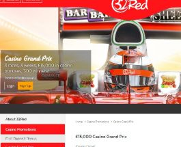 Win a VIP Trip to Silverstone at 32Red Casino