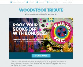 Win a Rock Concert Package Worth $3K at InterCasino