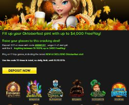 Enjoy up to $4K of Oktoberfest Free Play at 888 Casino