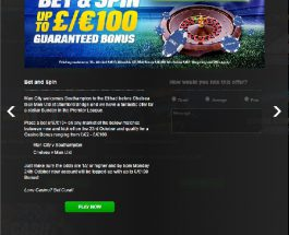 Bet on Sunday's Premier League for a Coral Casino Bonus