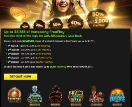 Earn Up to $8,888 Free Play at 888 Casino