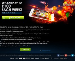 Receive Up to £100 Extra at Gala Casino