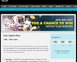 Grosvenor Casino Offers Live Dealer Instant Cash Bonuses