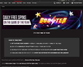 Earn Daily Free Spins with NetBet's Game of the Year Promo