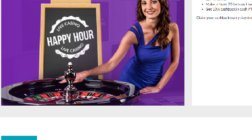 Get 10% Cashback in Daily Live Dealer Happy Hours at Gala Casino